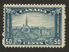 Canada 1930 Grand Pre 50c pale blue shade 176i MNH
