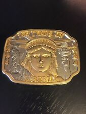 Statue of Liberty Belt Buckle 100 Years 1984 1994 Limited Edition Numbered