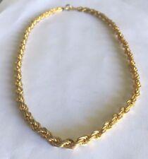 Classy Golden Twist Choker Necklace