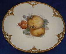 Nice KPM Berlin Art Nouveau Porcelain Fruit Scene Plate Porzellan Teller German