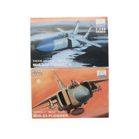 2PCS MiniHobbyModels 1:144 Aircraft Fighter Model MIG-25P MiG-23 Assemble Kit