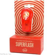 Planet Bike LED Superflash Turbo Taillight Red//Clear//White-New