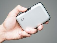 Ogon designs Original Aluminum WALLET CARD CASE RFID Bloc Colour: Silver