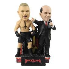 Brock Lesnar & Paul Heyman  Dual Special Edition Bobblehead WWE
