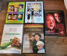 Heavenly Creatures, Rules of Attraction, Life is Beautiful, AdaptationDvd Lot