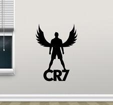 Cristiano Ronaldo Wall Decal CR7 Sport Gym Football Vinyl Sticker Decor 163hor