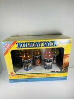 2006 Limited Edition Jones Soda Holiday Pack Thanksgiving NEW SEALED Glass