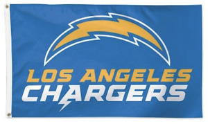 Los Angeles Chargers 3 x 5 Man Cave Flag 3x5 Banner LA Chargers New LOGO Charger