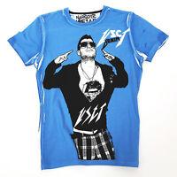Vsct High on hope Cover Herren T-Shirt Gr. XL indigo blau Pin-Up Vintage Shirt