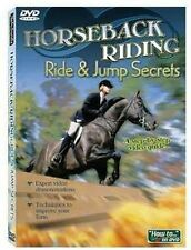 LEARN HORSEBACK RIDING  Ride & Jump Secrets DVD   Expert video demonstrations