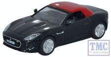 76FTYP007 Oxford Diecast 1:76 Scale OO Gauge Jaguar F Type Ultimate Black