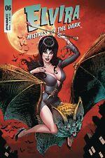 Elvira Misstress of the Dark #6 Dynamite 2019 CVR C John Royle