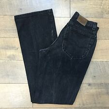 Vintage 90's Women's LEE Black Jeans 100% Cotton Made In USA Size 7 Med