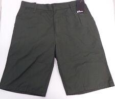 Men's Elirix Forrest Green Cargo Shorts Size 30 Flat Front