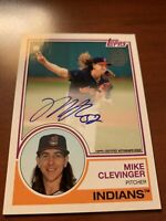 MIKE CLEVINGER 2018 TOPPS 35TH ANIV. AUTO/AUTOGRAPH CLEVELAND INDIANS