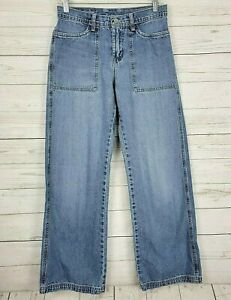 Lucky Brand Lucky You Womens Jeans Dungarees Gene Montaseno Cotton USA Made 6/28