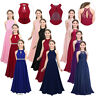 Kids Flower Girl Dress Party Gown Formal Wedding Bridesmaid Maxi Dresses Pageant