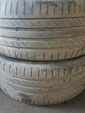 x2 245/45/19 continental contact sport 5 tyres