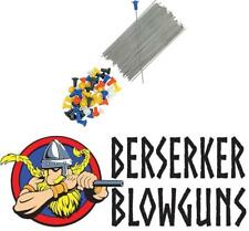 25 Pack .40c Blowgun Target Darts from Berserker Blowguns - Made in the USA