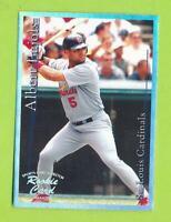 2001 SCI Sports Card Investor Platinum - Albert Pujols  St Louis Cardinals
