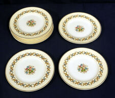 """Wedgwood Bone China Sandringham Blue W3509 8 Bread and + Butter Plates 6"""""""