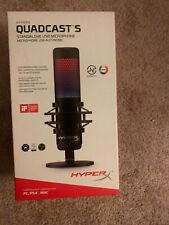 HyperX QuadCast S Customizable RGB USB Condenser Microphone Brand NEW