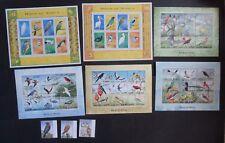 Sierra Leone 1999 Birds sheets SG3075/3129 Unmounted mint MNH UM