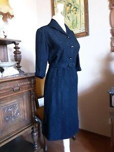 Orig. 50er Kleid Gr.36 Etuikleid Hepcat Rockabilly Einzelstück sehr gepflegt
