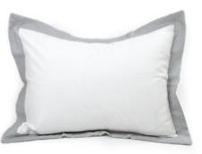 Leigh Deux Storm Grey Standard Pillow Sham