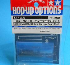 Tamiya 53390 Hop-Up Options Hollow Carbon Gear Shaft (M03, M04) OP-390 RC Part