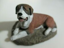 St. Bernard Dog Figurine - Vintage Dog