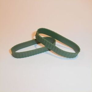 Matchbox Lesney Kingsize Green Replacement pair of Tracks Treads K 3 8 17
