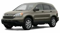 Honda CRV (Third generation (2006–2011) Service Workshop Repair manual