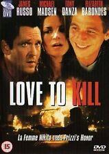 Love To Kill - Michael Madsen (DVD 2002) New/Sealed