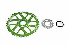 Relic 46T MTB Sprocket Kit for Shimano 11 Spd - 11-40T/42T Cassette - Green