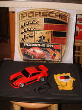 VINTAGE PORSCHE 911 CARRERA TURBO W/TETHERED REMOTE CONTROLLED RACING GLOVE!!