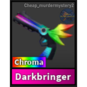 Murder Mystery 2 MM2 Chroma Darkbringer Roblox *FAST DELIVERY* Read Description