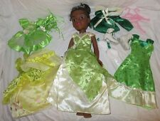 "Disney Princess & MeTiana1st Edition Doll 18"" Tea Holiday Dress Ballet Outfit"