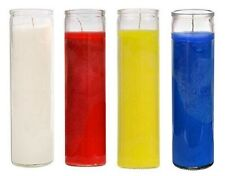 """6-Bulk//Wholesale~Emergency Candles~Religious,Camping~Red~6/""""~5-7~Hour Burn~USA"""