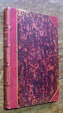 Contes de Charles Nodier illustrés par Tony Johannot 1846 HETZEL Relié demi-cuir