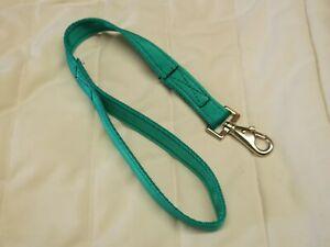 Dog Lead 25mm wide. 30 - 120 cm long. Various Colours. Cushion Web + Snap Clip
