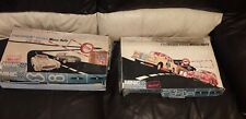 Minic Motorways Checkpoint Bravo , Frontier Post Racing sets , vintage 1960s