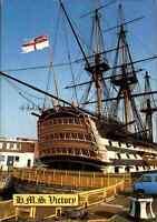 Schiff Ship Postkarte England Segelschiff Sailingboat H.M.S. VICTORY, color 1991