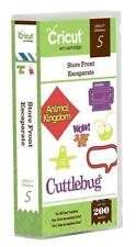 STORE FRONT Cartridge For Cricut Machine ~ Phrases Tags Signs Frames ~ SEALED