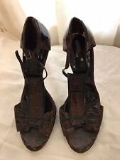 Calvin Klein Collection woman shoes size 40 made in Italy
