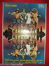 THE WIZ  1978 MICHAEL JACKSON DIANA ROSS THE WIZARD OF OZ RARE EXYU MOVIE POSTER
