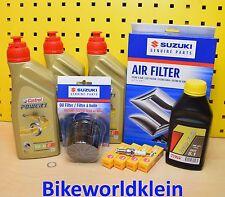 Suzuki DL 650 12-16 Original Ölfilter Luftfilter Zündkerzen Öl Castrol V-Strom