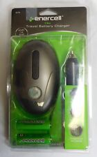 Enercell Two Bay Travel Battery Charger includes 2 Aa Ni-Mh batteries Nip
