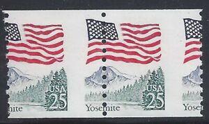 """2280 Misperf Error / EFO Pair """"Yosemite"""" Mint NH (Stk3)"""