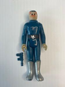 Vtg Star Wars Blue Snaggletooth G.M.F.G.I. 1978 Hong Kong - Complete w/ Gun